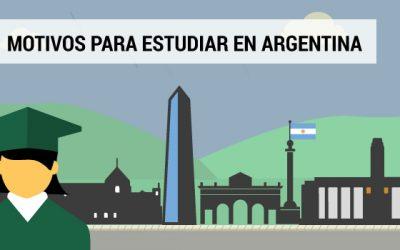 5 Razones para estudiar en Argentina