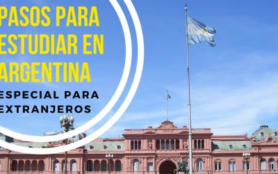 Pasos previos para estudiar en Argentina